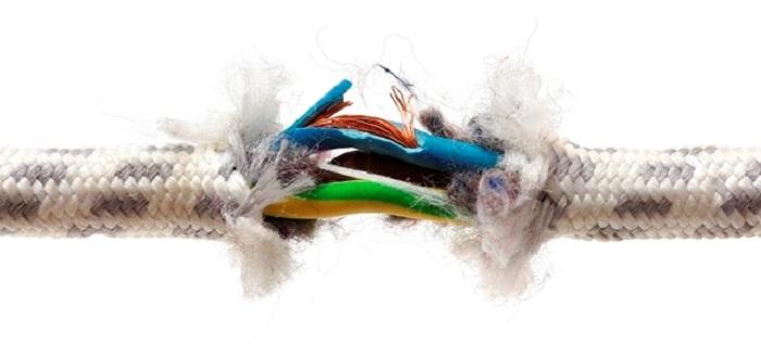 dây điện hư
